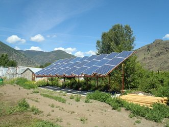 keremeos organic orchard solar power