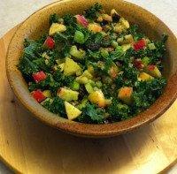 Ambrosia Apples And Kale Salad