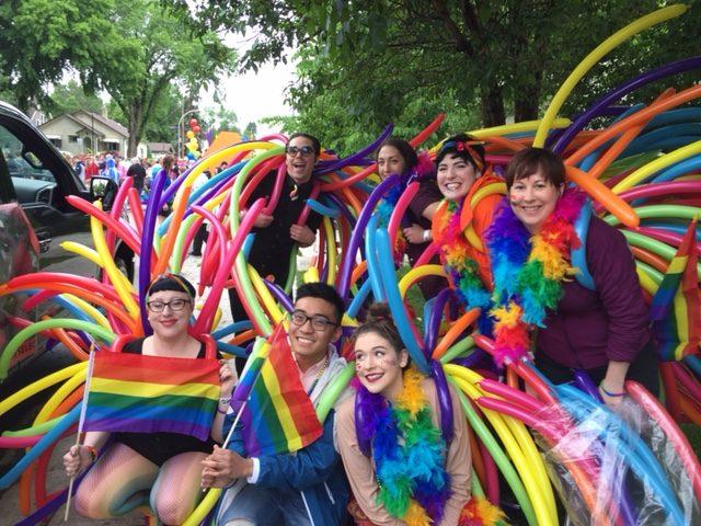 Edmonton Celebrates Pride Week 2017