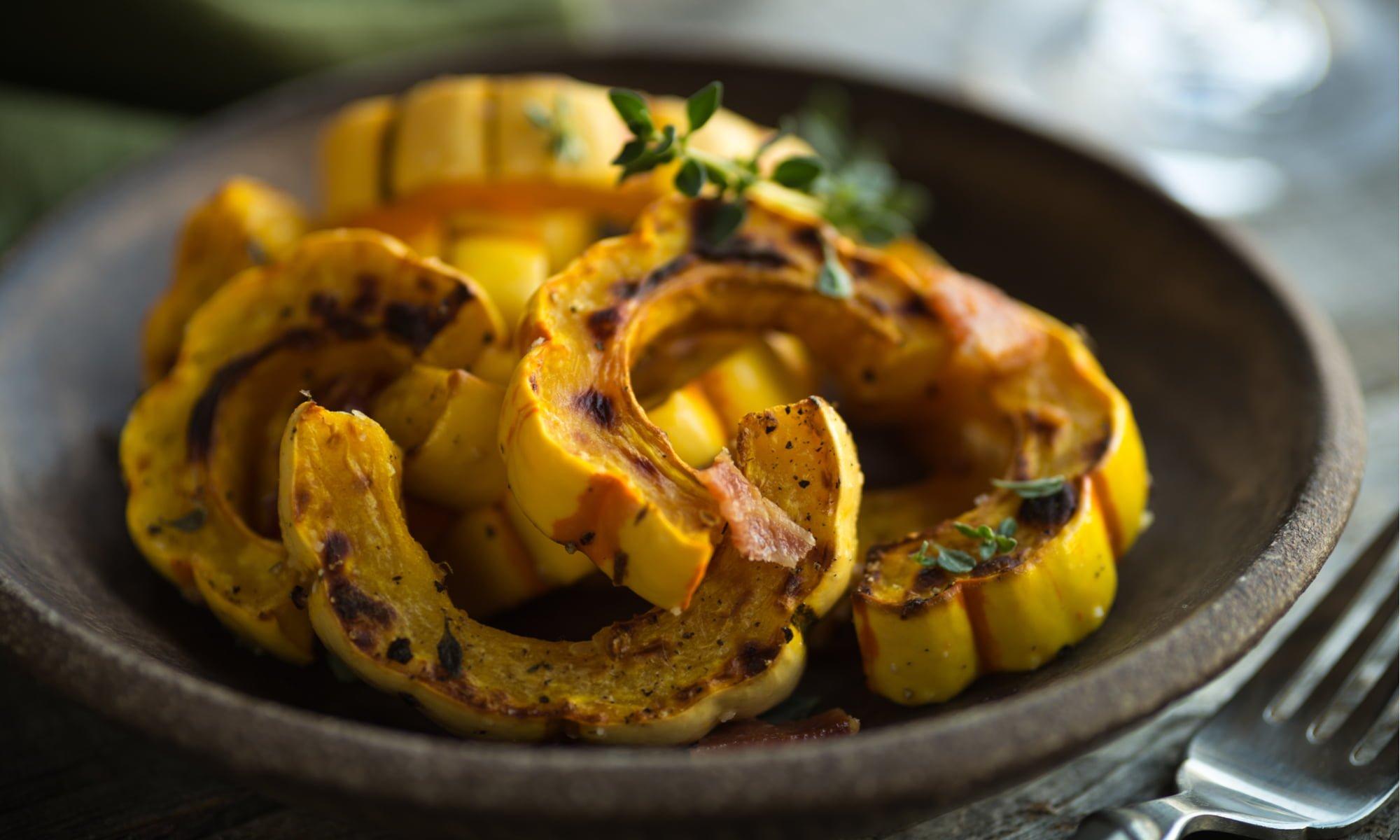 3 Heavenly Vegan Delicata Squash Recipes
