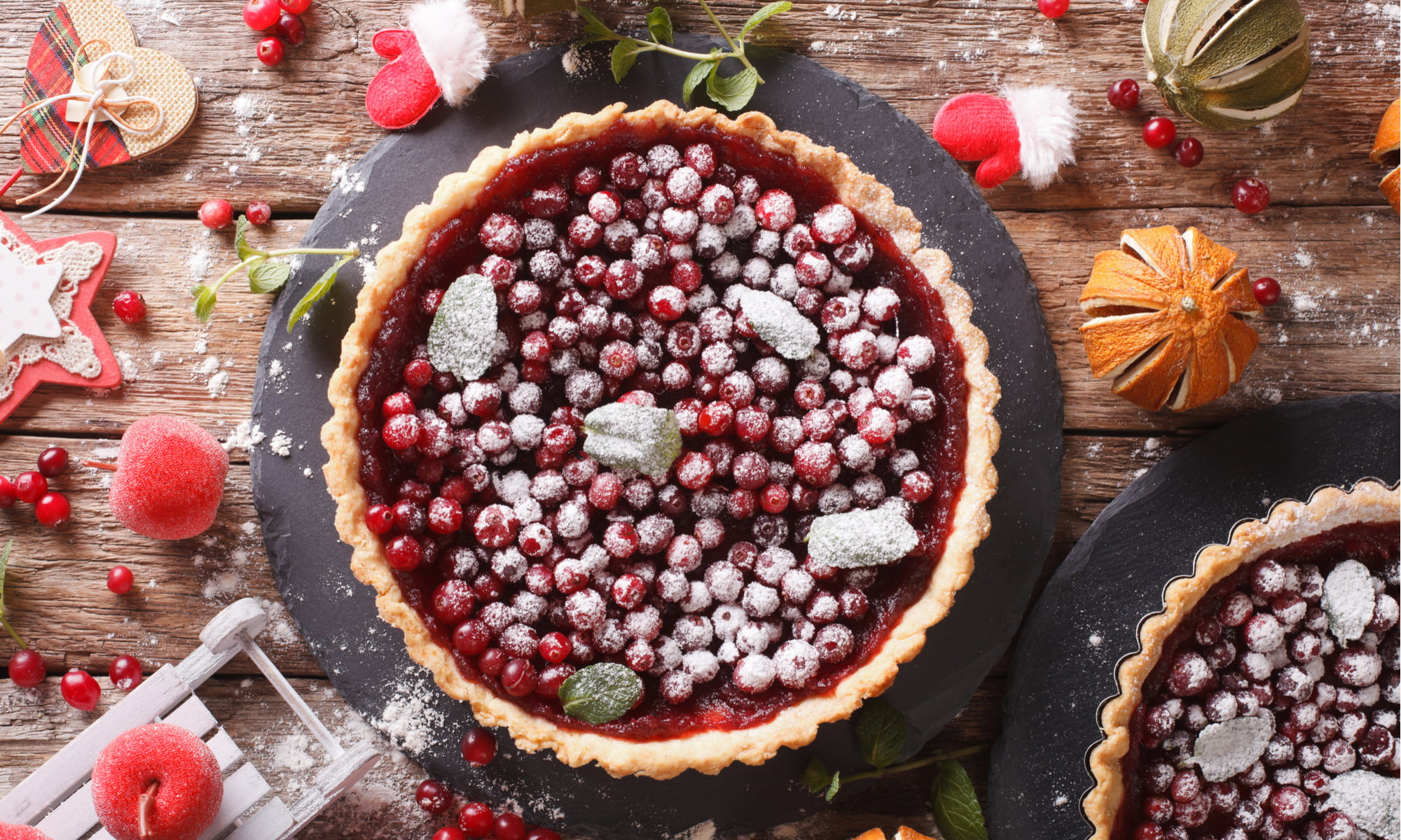 Easy, Breezy, Holiday Cranberry Tart Recipe – Blush Lane