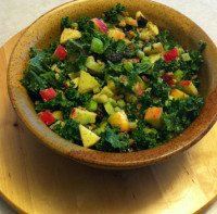 Ambrosia Apples And Kale Salad