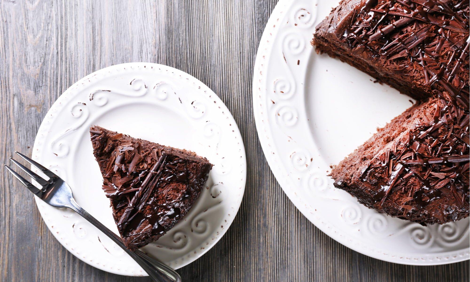Creamy Vegan Avocado Chocolate Cake