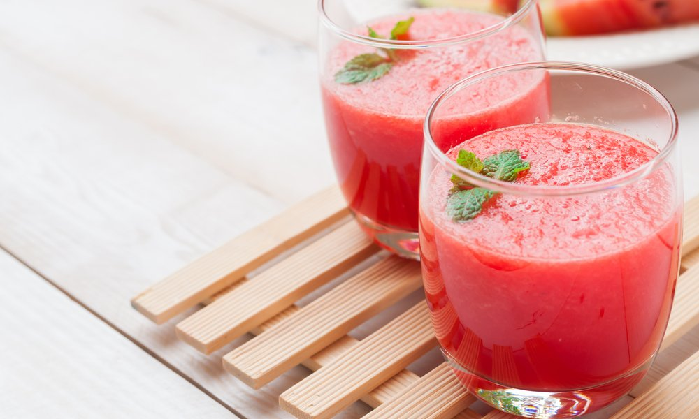 4 Ingredient Thirst-Quenching Watermelon Slushie