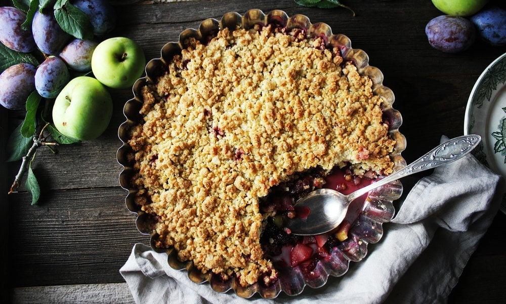 Summer Plum Tart With Orchard-Fresh Plums