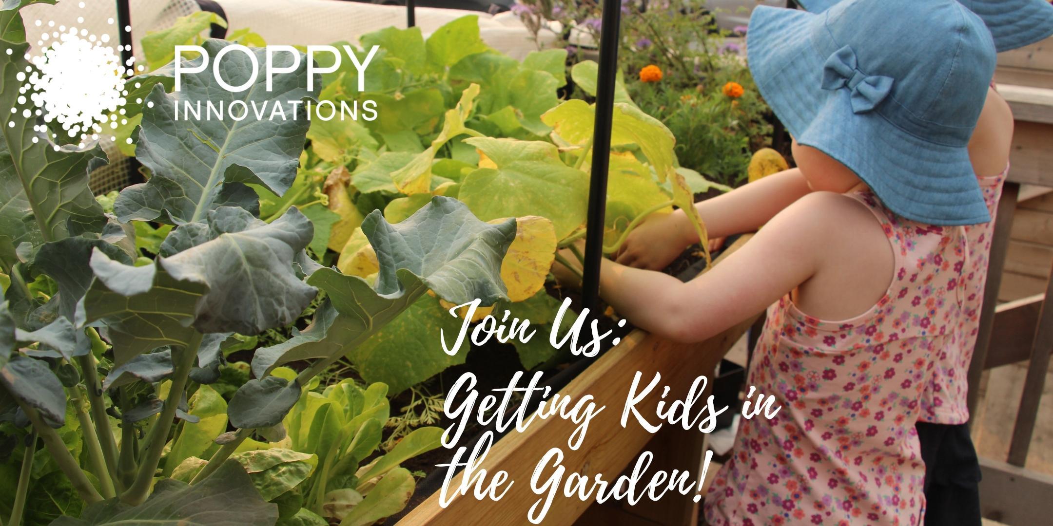 Getting Kids In The Garden!