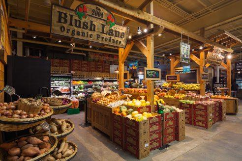 blush lane organic produce