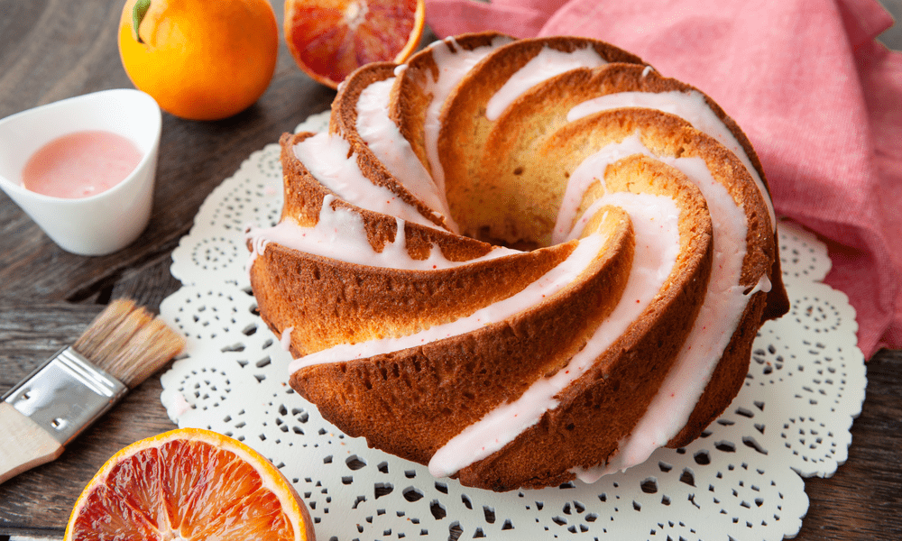 easy blood orange cake