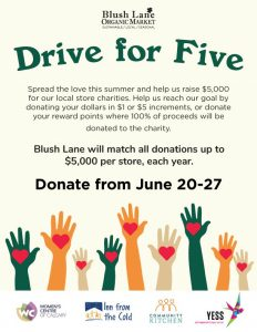 Drive for Five Fundraiser