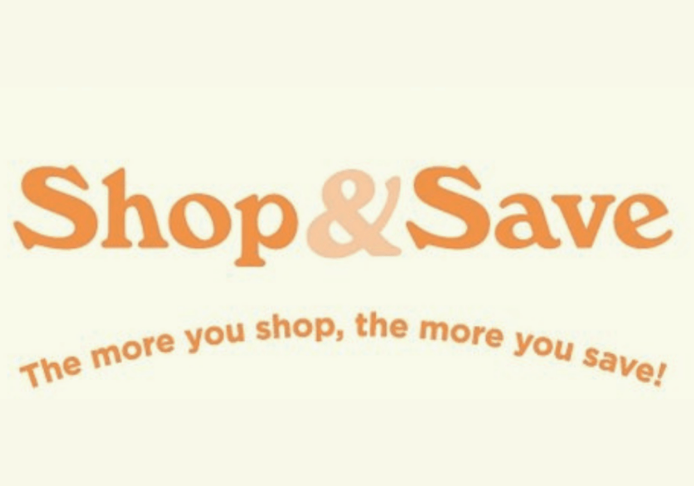 Shop And Save Banner